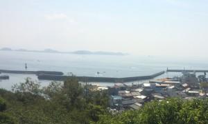 三河湾の風景